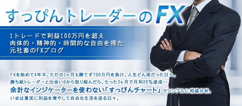 すっぴんトレーダーのFX